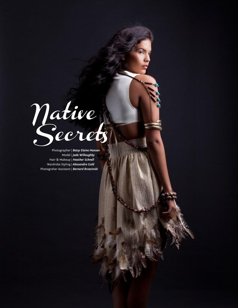 Adha Zelma Rocks the Native Secret Editorial in Brink Magazine