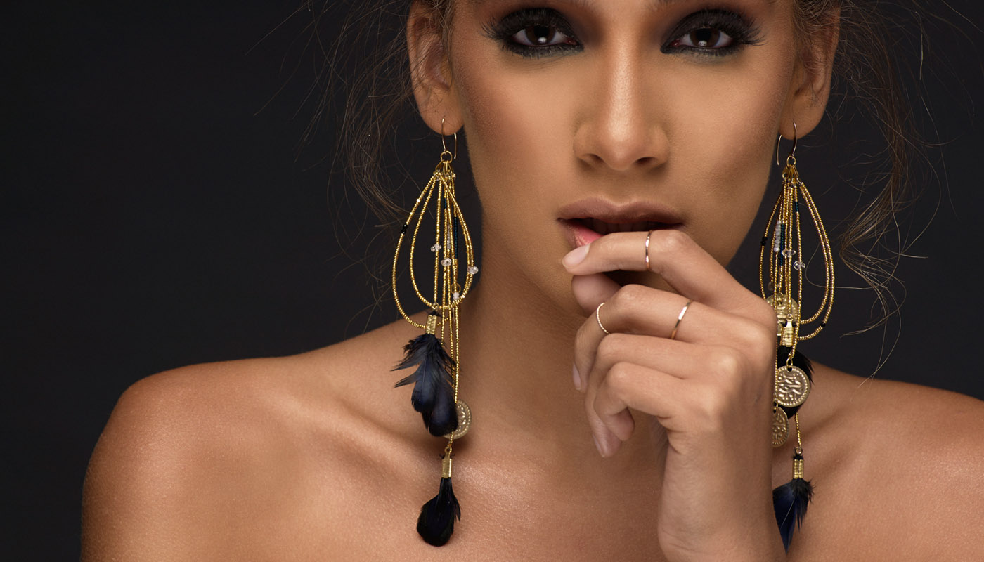 Adha Zelma Peri Bohemian Earrings