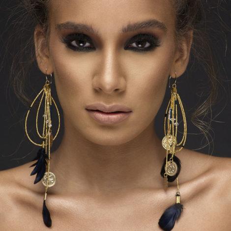 Al-Shama- Adha Zelma Earrings