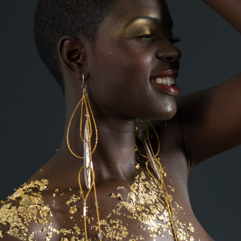 Elektra Earrings by Adha Zelma