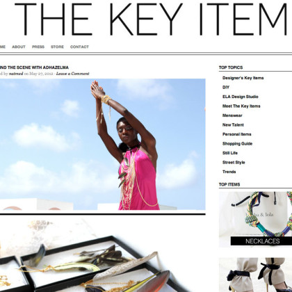 The Key Item Features Adha Zelma
